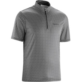 Gonso Orin Bike Jersey Shortsleeve Men white/black